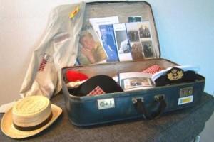 kijkje in de koffer